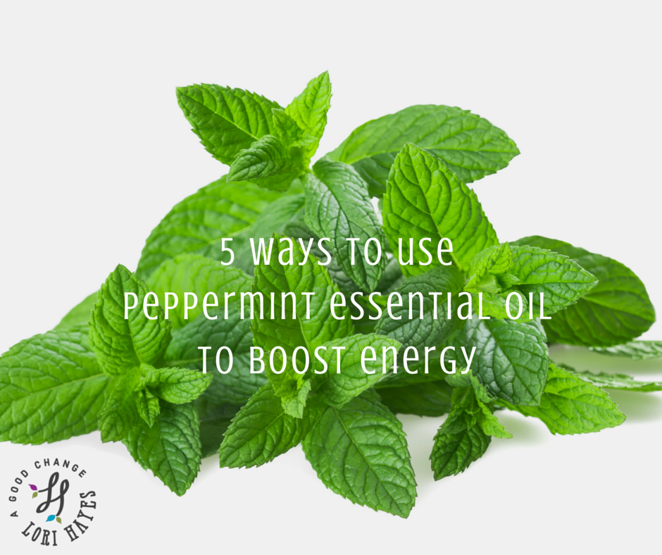 5 ways to use peppermint essential oil to boost energy
