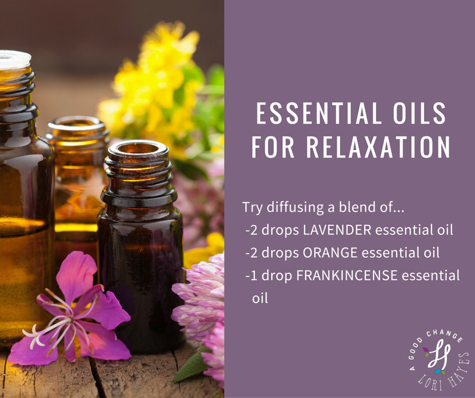 Essential oils for relaxation diffuser blend recipe